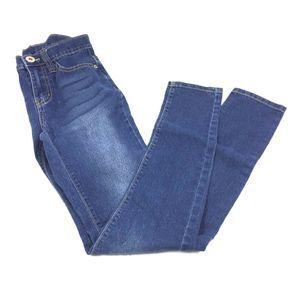 Bongo Jeans Juniors Size 3 Skinny Medium Wash